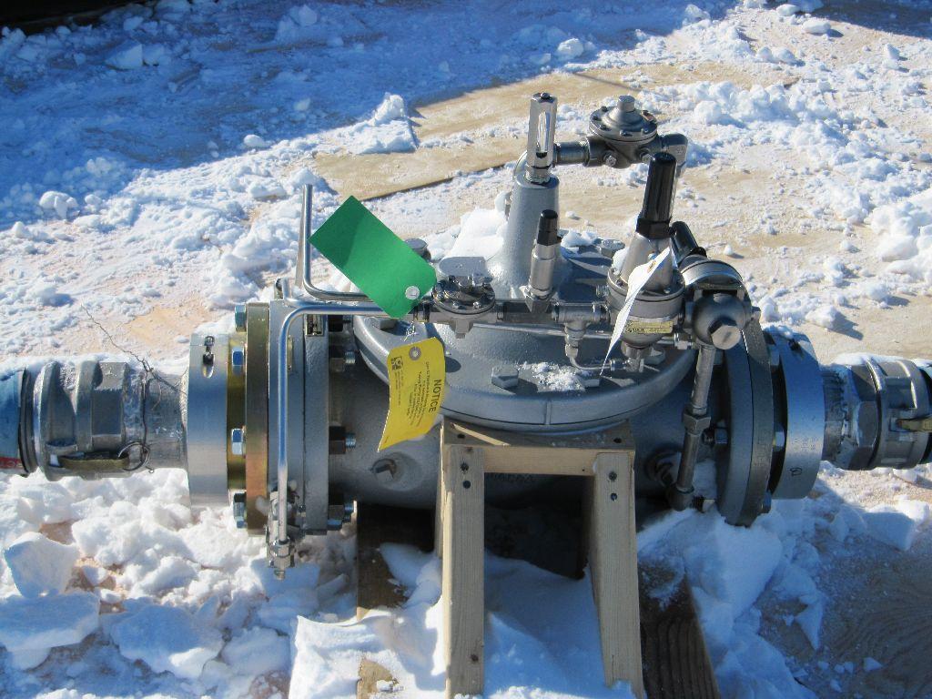Flow control valve (photo thanks to Pegasus line crew).