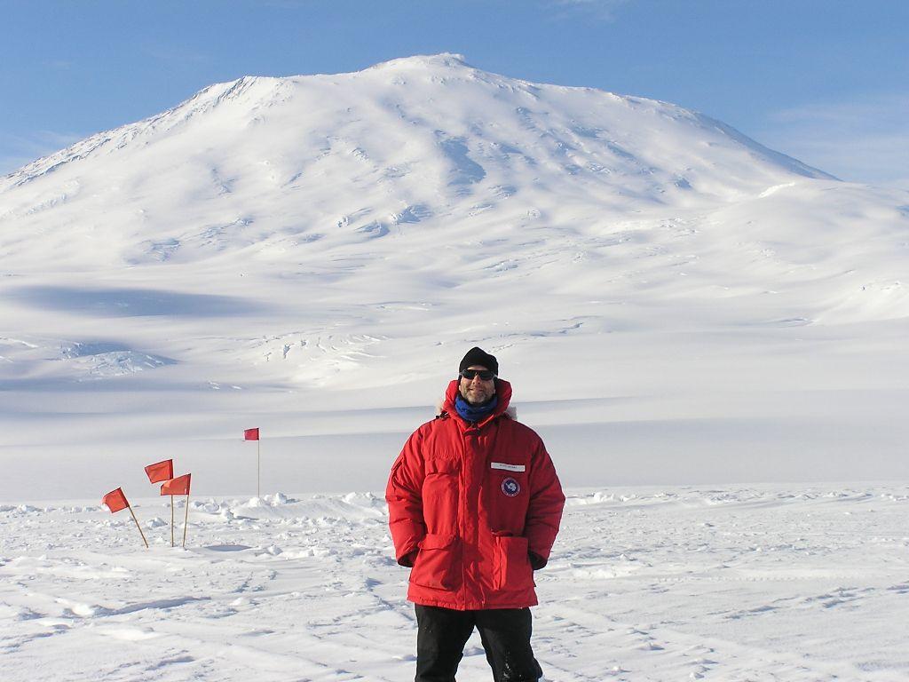 Mt. Erebus and me.